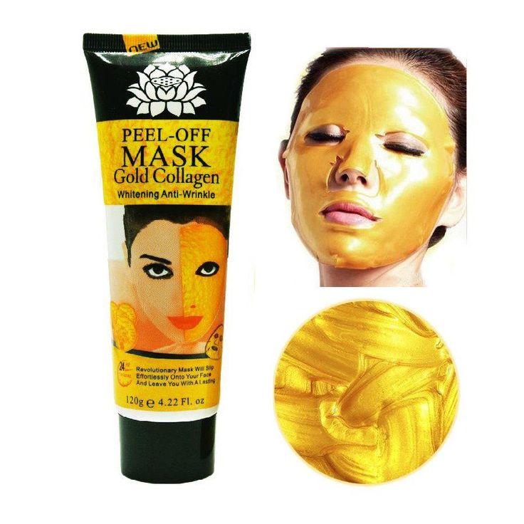 24K Gold Rejuvenating Collagen Facial Peel-Off Mask