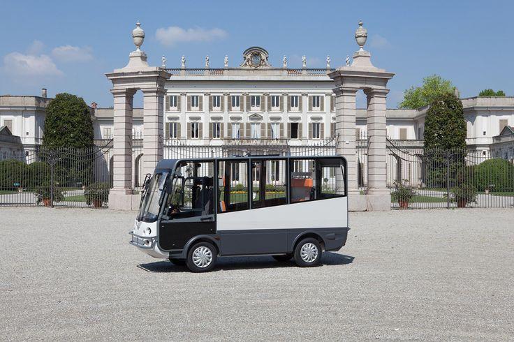 Esagono Energia Microbus électrique 6 places, homologué route