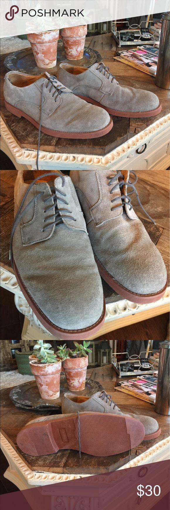 FLORSHIEM MENS OXFORDS Grey suede FLORSHEIM MENS Oxfords worn once.... Florsheim Shoes Oxfords & Derbys