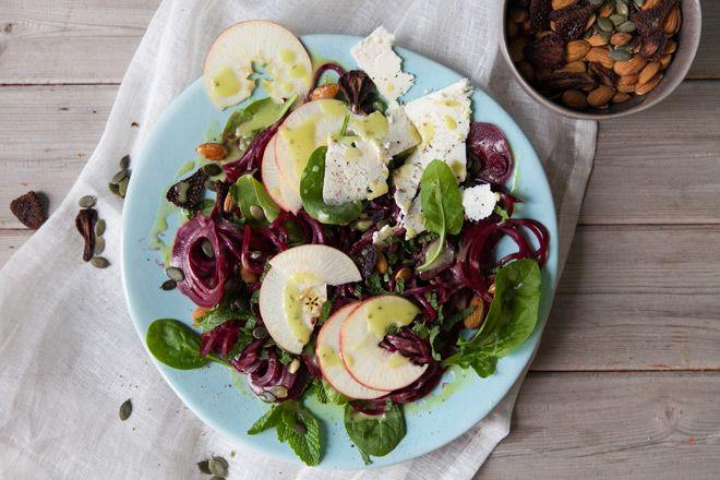 Summertime salad with the Spiralfix