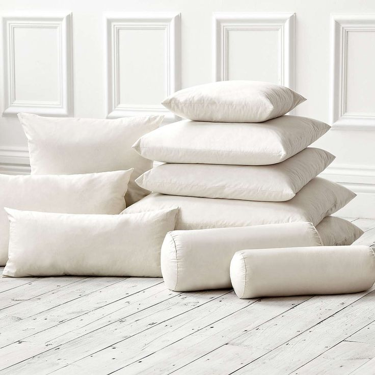 Cushion inners for new sofa back & floor seating (Dunelm)