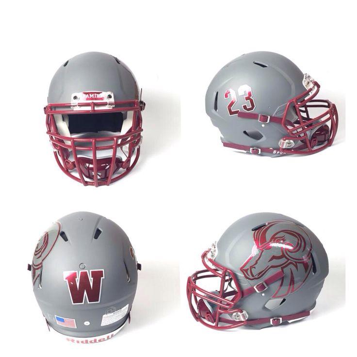 Best FOOTBALL HELMET LOOKS Images On Pinterest Football - Helmet decalsfootball helmet decals business art designs