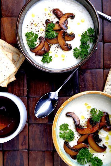 Soupe crémeuse au chou-fleur et aux noix de Cajou