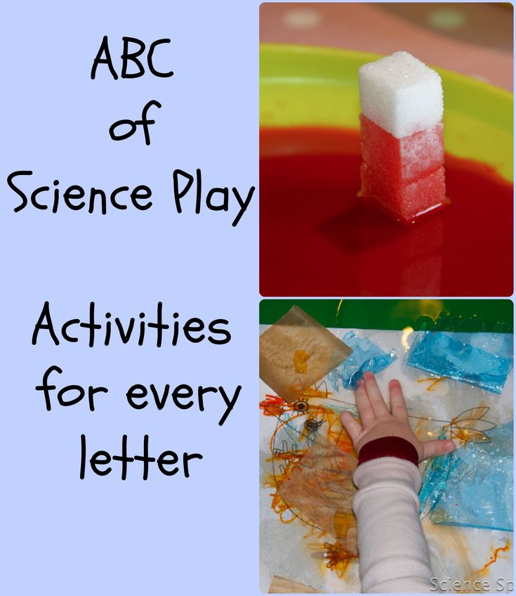 Science experiments for every letter of the alphabet #Science