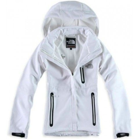 North Face Canada Womens Windstopper Jacket White