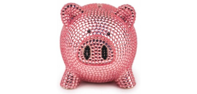 105 best little girl images on pinterest infants babies clothes and nordstrom - Rhinestone piggy bank ...