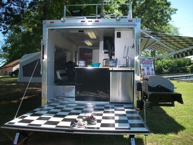 Towable Tailgates Photo Galleries: NASCAR.com/COORS LIGHT Ultimate Racing Tailgate Trailer