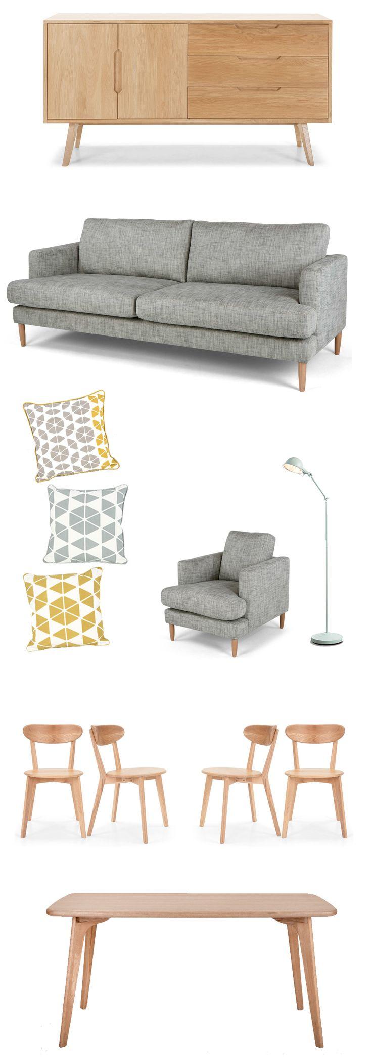 Je vous ai déjà parlé de Made.com dernièrement en vous présentant de jolis fauteuils rétro. Made.com ne fait pas que des fauteuils et canapés vintage, la boutique propose des meubles, des luminaires, de la déco, des tapis,... Voici donc une petite sélection pour une jolie déco scandinave rétro !  Buffet Jenson : 729€ -1250€…