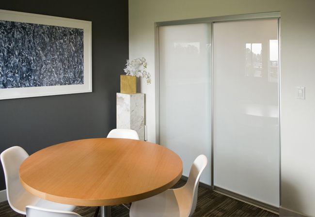 Riviera Room Divider - great to let light in to small spaces yet still close off the room