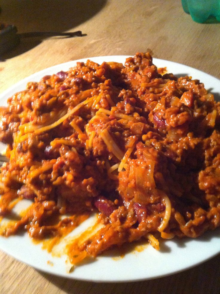 Spaghetti bolonese