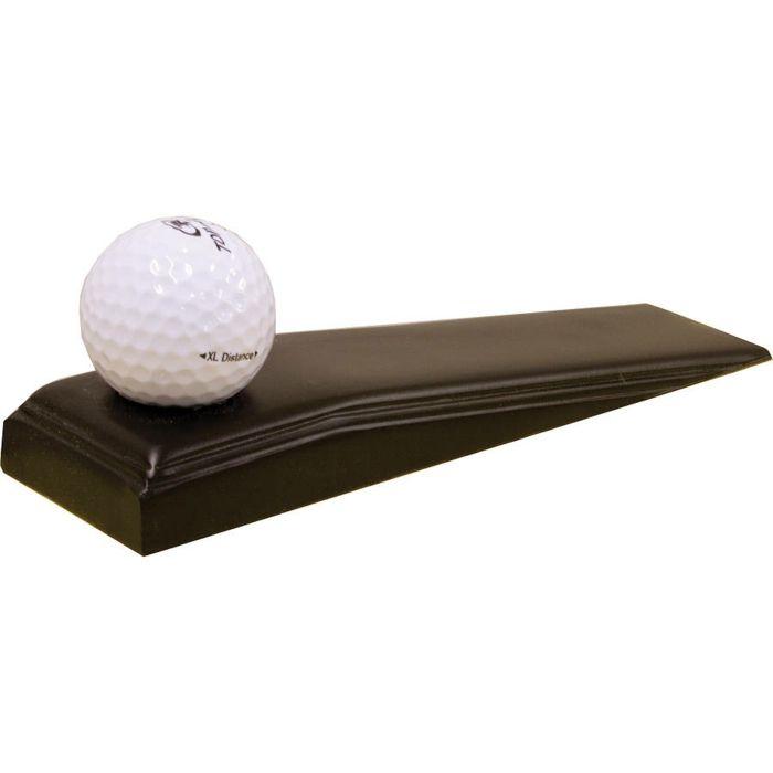 sack türstopper edelstahl türpuffer golf ball