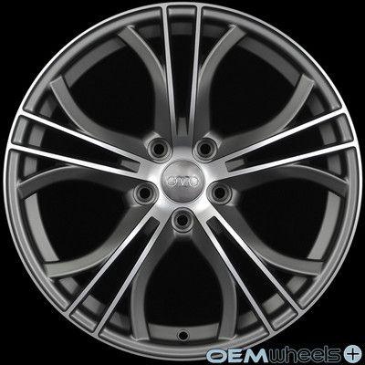 "18"" Matte Gun Metal s Line Style Wheels Fits Audi Q5 Quattro VW Tiguan TDI Rims | eBay"