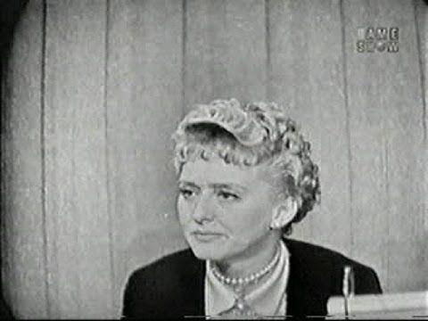 What's My Line? - Celeste Holm; Tony Randall [panel] (Jan 4, 1959) - YouTube