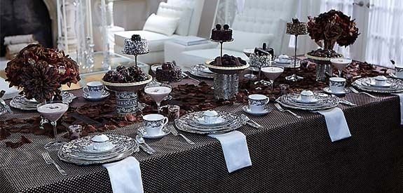 Perfect for a fall wedding!  Chocolate Brown!