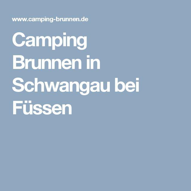 Camping Brunnenin Schwangau bei Füssen