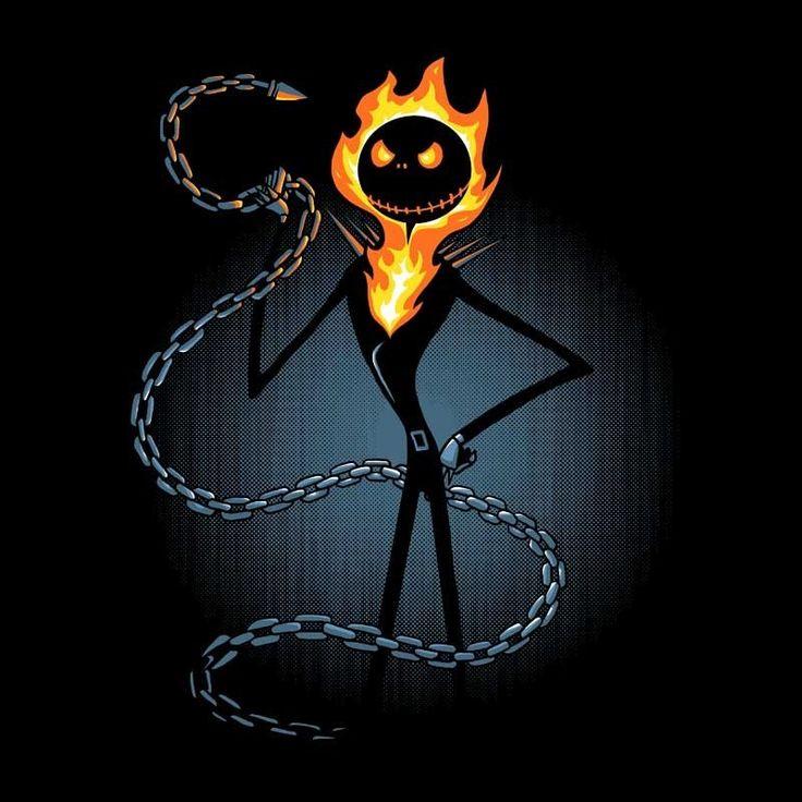 The Nightmare Before Christas - Ghost Raider