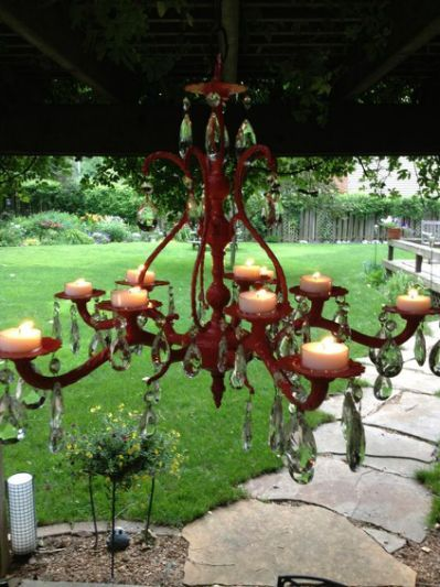 1000 Images About Garden Chandeliers