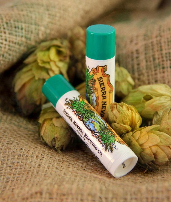 Definitely a chapstick I would try... thank you Sierra Nevada!