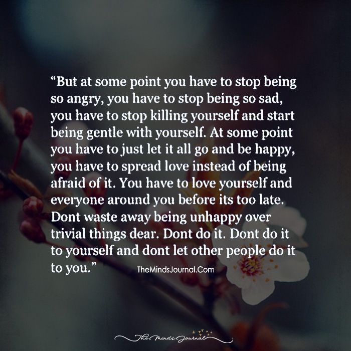 You Have To Love Yourself And Everyone Around You Before It's Too Late - https://themindsjournal.com/love-everyone-around-late/