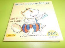 Pixi-Buch-Nr. 1937 - Bobo Siebenschläfer-Bei Bobo zu Haus - 1. Auflage-neuwertig