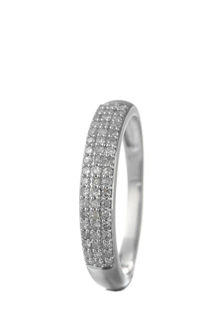 Jewelry OF India Ring, 9K Weißgold, Diamant silber Jetzt bestellen unter: https://mode.ladendirekt.de/damen/schmuck/ringe/silberringe/?uid=eb6856e3-27ee-545d-940e-c1e4c608baf7&utm_source=pinterest&utm_medium=pin&utm_campaign=boards #schmuck #ringe #bekleidung #silberringe Bild Quelle: brands4friends.de