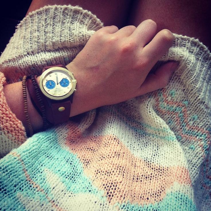 How to wear a Triwa Twist - http://www.horloges.nl/triwa-turtle-twist-brasco-chrono