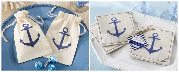 Anchor Muslin Favors from HotRef.com