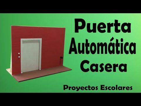 Proyectos | Puerta eléctrica Enrollable Casera (muy fácil de hacer) - YouTube