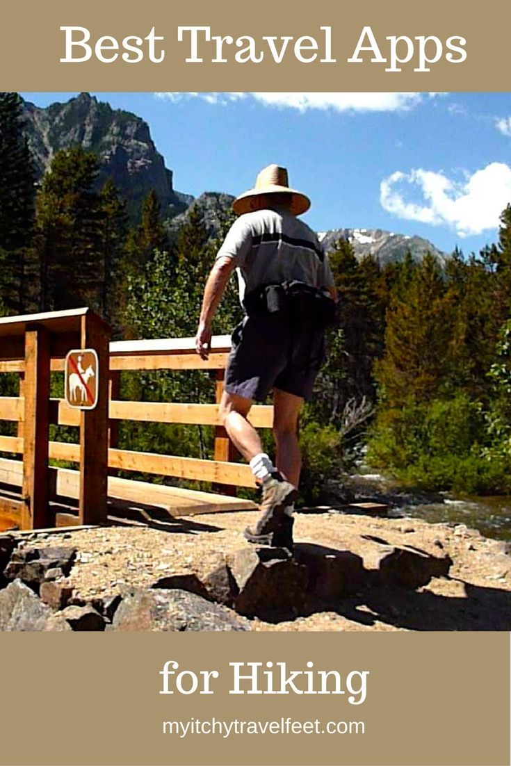Boomer travel - hiking - best iphone and android apps for your next boomer vacation. Great for trails in national parks, state park adventures or road trips.