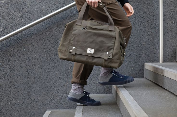 Universal Works + Barbour Advanced Holdall