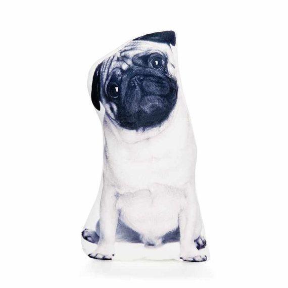 Pug Dog Pillows - By Cushion Co WORLDWIDE SHIPPING-Pug Cushion, Pug Pillow, Pug Lover Gift, Black And White Pillow, Home Decor, Boys Room Decor, For Kids Rooms, Nursery Dog, Pug, Pug Decor