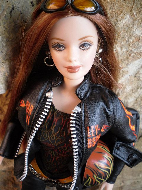 Harley Davidson Barbie if I had a daughter she would need this