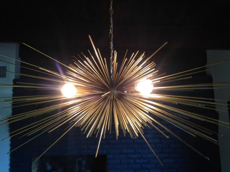 Red River Remodelers - Stimulight Gold Urchin Light