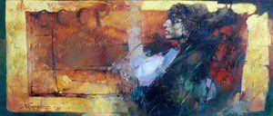 "Waclaw Sporski ""Born in USSR"" 60х140 Oil On Canvas sporskiart.com"