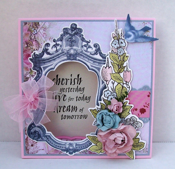 Best of Betsy's - Kaisercrafts cards made with the lovely Lake House collection.