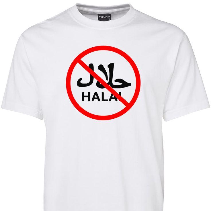Boycott Halal T Shirt