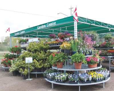 Outfront Metalworks Canadian Manufacturer Of Portable Garden Center Structures Producterchandise Display Systems