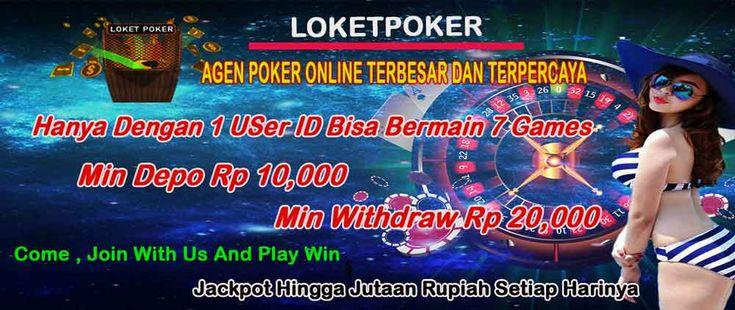 Agen Resmi Poker Online Terpercaya