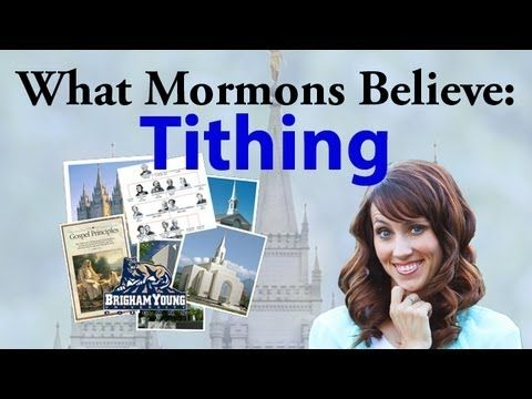 What Mormons Believe: Tithing