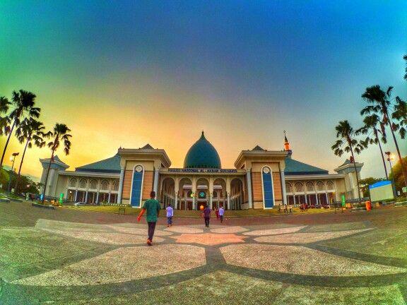 Al-Akbar Mosque, Surabaya with xiaomi yi cam