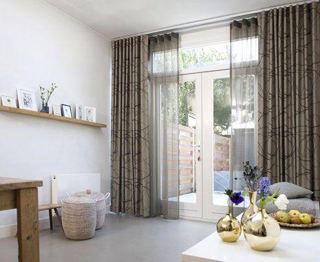 13 best Gordijnen in de woonkamer - Roobol images on Pinterest ...