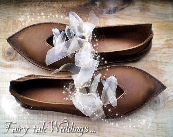 UK 5, Handmade leather shoes, D fitting, Conker brown ...