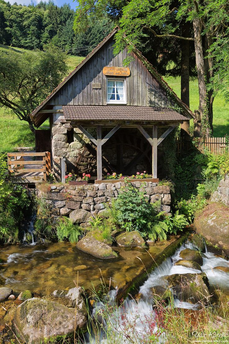 Old Mill, Ottenhöfen im Schwarzwald, Germany - The Black Forest, Baden-Württemberg, Germany