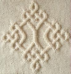 Celtic Diamond (# 20) por hacer punto de Devorgilla - Colección Celtic - Galería - Knitting Forum.Ru