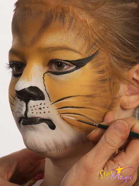Leeuw schminken | Schminken | Pinterest