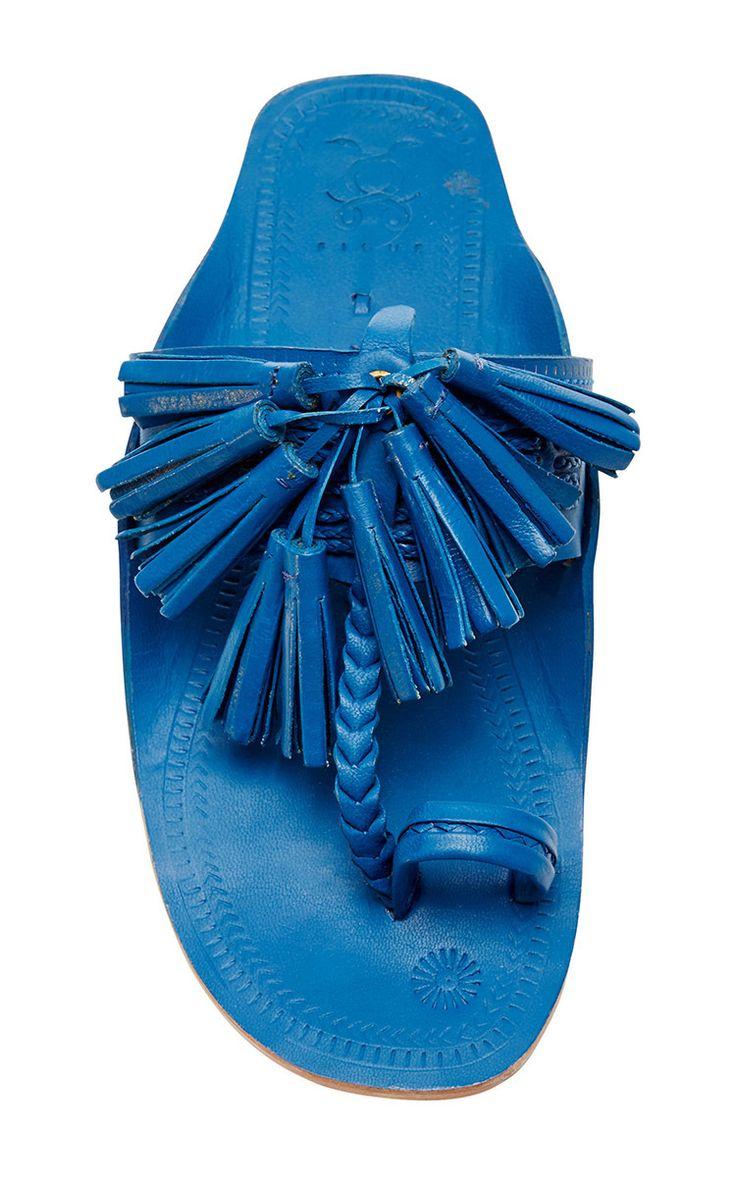 Figue Maldive Blue Scaramouche Sandal