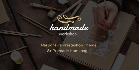 Handmade - Amazing Responsive Prestashop Theme Shopping #eCommerce Download here: http://themeforest.net/item/handmade-amazing-responsive-prestashop-theme/15568960?s_rank=1&ref=yinkira