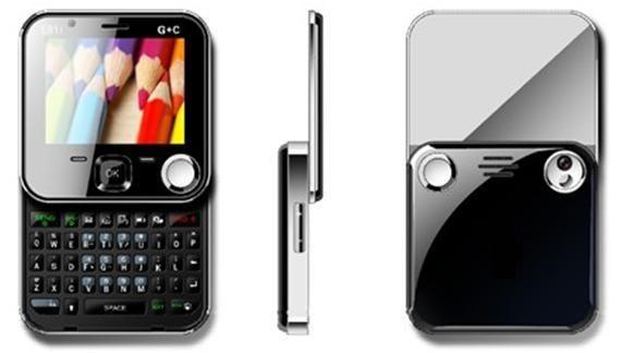 revolve qwerty GSM-CDMA mobile KK e81