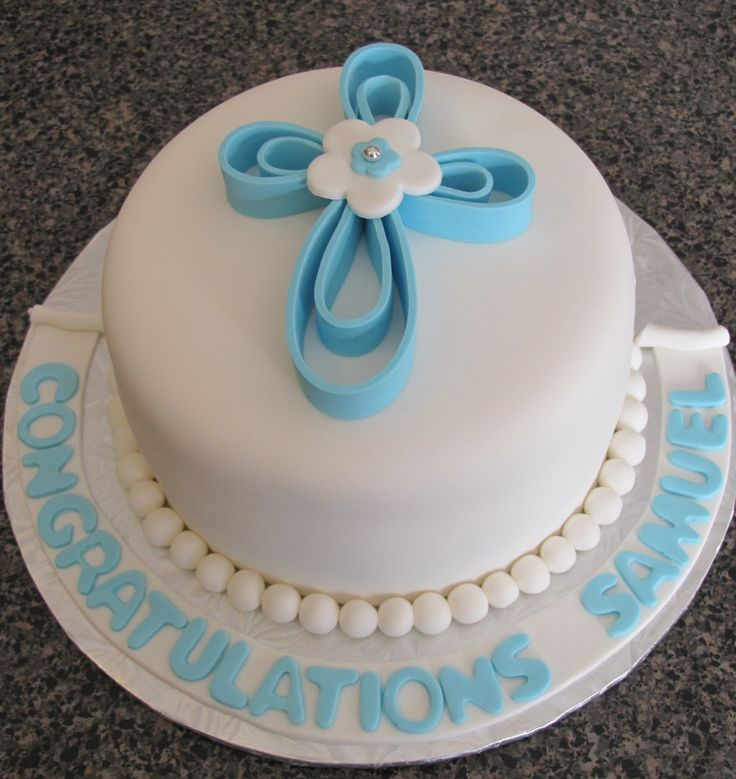 christening cakes for girls | Baptism Cake and Cupcakes