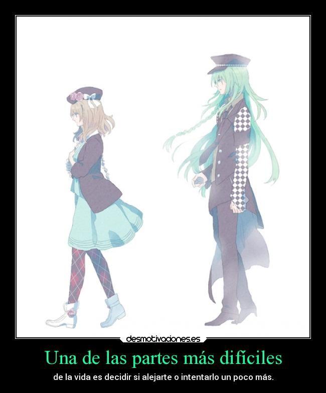 carteles vida alma amor amistad anime amnesia heroine ukyo desmotivaciones